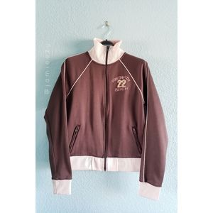"Hollister | ""Huntington Beach"" Zip Up Track Jacket"
